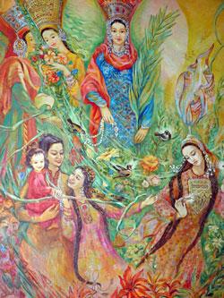 Музея изобразительных искусств, Ашхабад