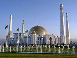 Мечеть Рух, под Ашхабадом